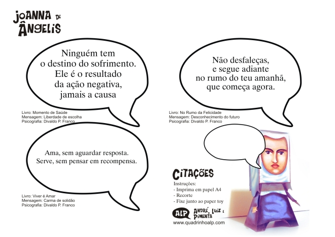 CITAÇÕES JOANNA DE ÂNGELIS