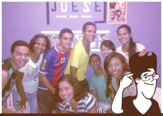 """A mocidade """"Jovem Semeador"""" de Salvador-Bahia utiliza os materiais ALP e publica as tirinhas em seu jornal."""